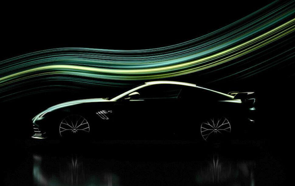 Aston Martin zeigt einen Blick auf Hardcore-Vantage